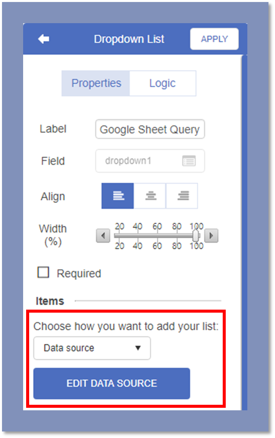 How to query from a Google Sheet – Formotus Support Center